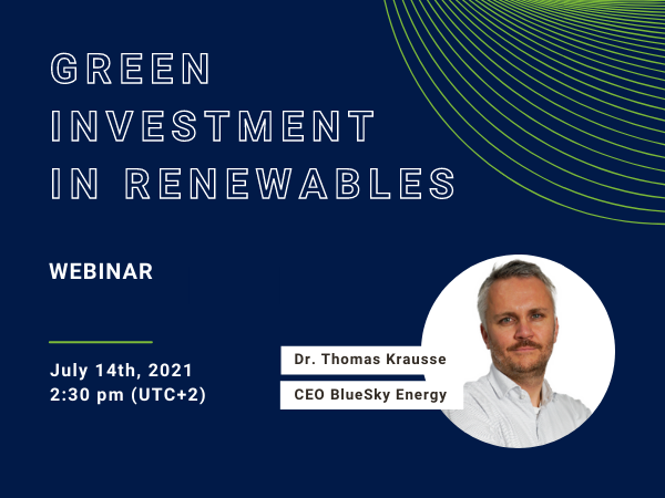 Teaser Green Investment with CEO Thomas Krausse CEO